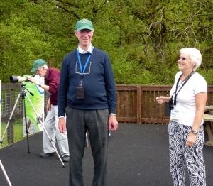 Jack Charlton with NWT volunteer Margaret (c) Joanna Dailey