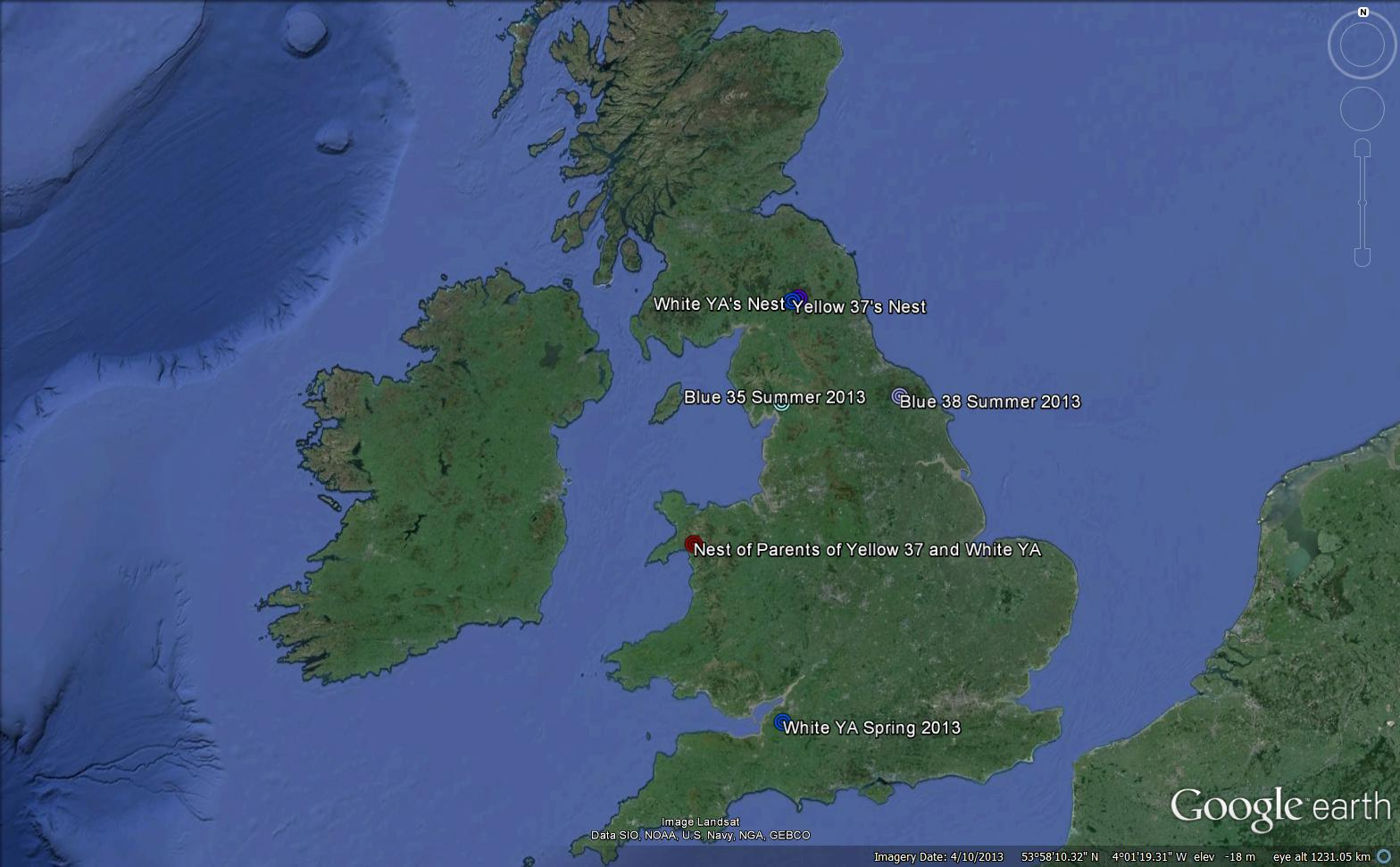 Maps and migration   Kielder Ospreys Google Earth Maps on google maps street view world, google maps street view location, google maps france, google maps update 2013, google maps 2014,