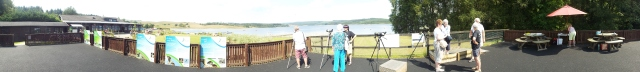 A panoramic shot of Osprey Watch looking towards Nest 1 (c) Neil Richardson