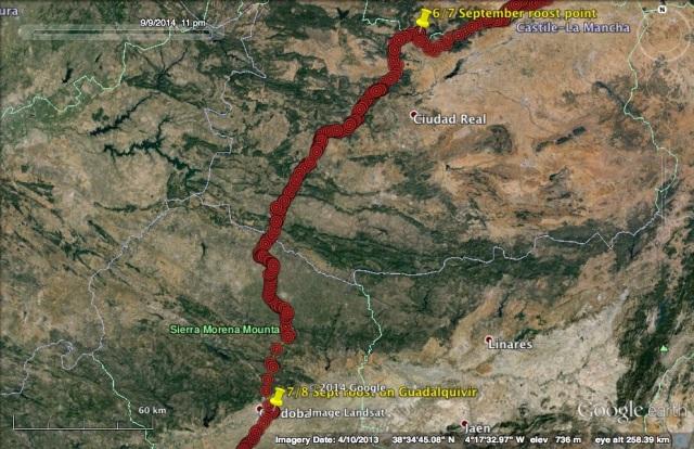 VV's journey on 7 September