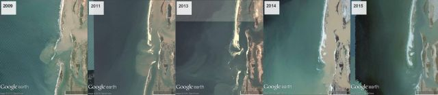 2009-14: the île de Barbarie is growing apace