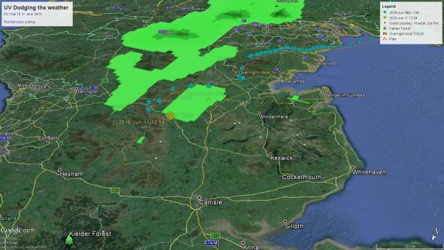 UV avoids poor weather courtesy Paul Wildlifewriter