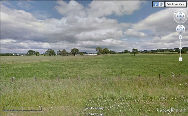 UV's view from the A689 (c) Street View